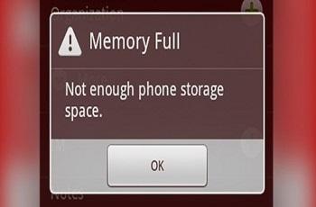 آموزش حل مشکل پر شدن ناگهانی حافظه گوشی