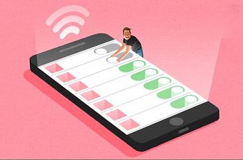 بهینه کردن مصرف اینترنت در آیفون چگونه است ؟
