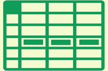 ساخت جدول در اکسل چگونه است ؟