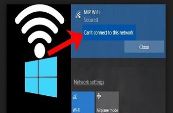 حل مشکل وصل نشدن اینترنت ویندوز 10